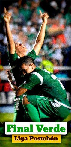 Especial: Final verde en la Liga Postobón, Deportivo Cali Vs Atlético Nacional http://www.elpais.com.co/elpais/deportivo-cali-final-liga-postobon-2013
