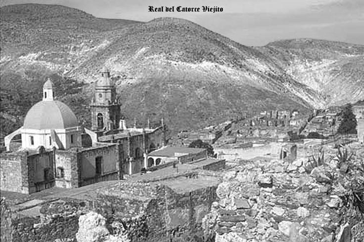 Panoramica de Real de Catorce San Luis Potosi Mexico ...