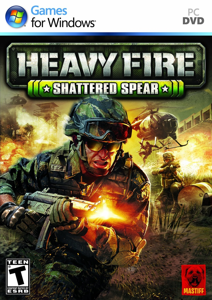 Heavy Fire Shattered Spear Playstation, Spear