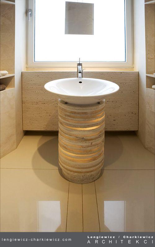 Apartament w Warszawie. Łazienka. Projekt i realizacja: lengiewicz-charkiewicz.com #bathroom