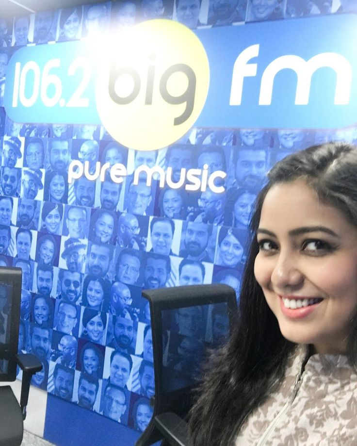 At the 106.2 Big FM Radio Station in Dubai :) #MJ #RohaaniWithHarshdeepKaur