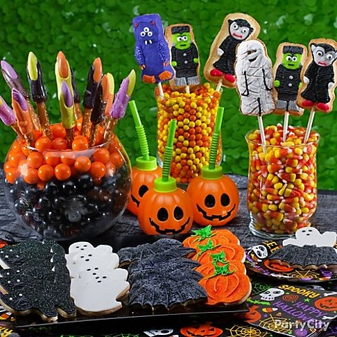 1000 images about halloween candy buffets and party ideas on pinterest halloween candy. Black Bedroom Furniture Sets. Home Design Ideas