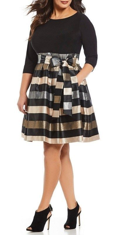 45 Plus Size Party Dresses {with Sleeves