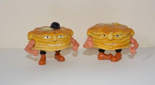 Vintage Food Fighter Short Stack Pancakes Mattel 1988 | eBay