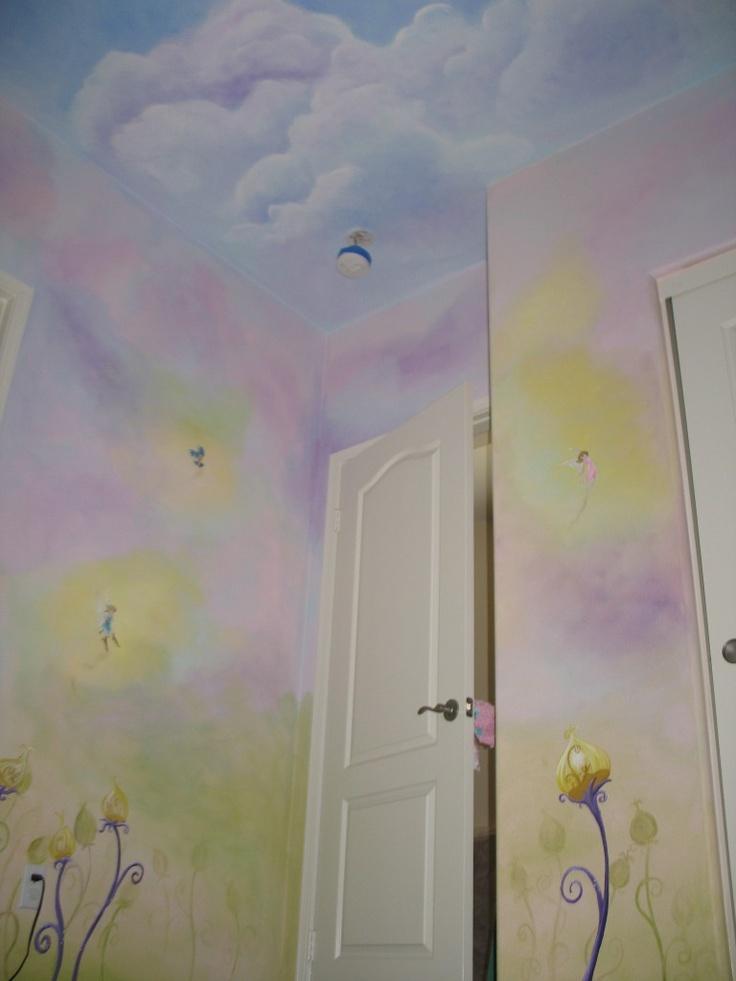 Child's Fairy Room Decor http://www.kimskreations.com/childrens_rooms.html