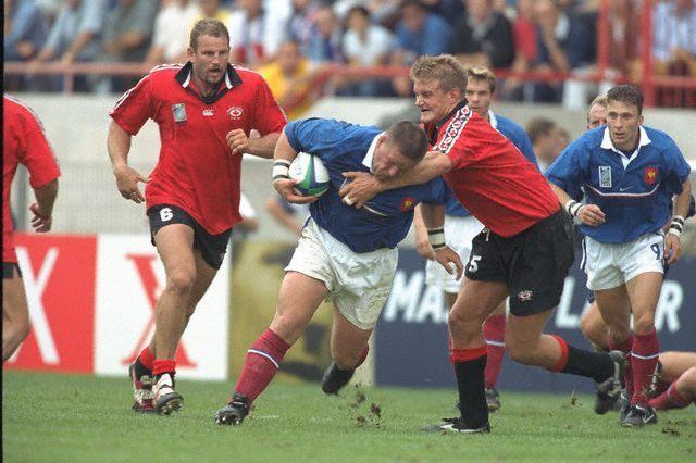Christian Califano, Pierre Mignoni, Christophe Dominici 1999