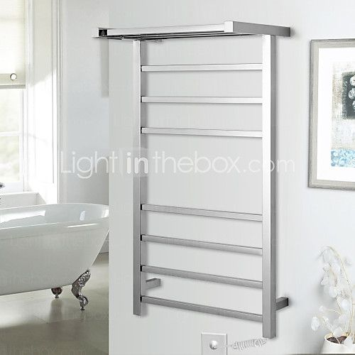 Towel Warmer Stainless Steel Wall Mounted 920*520*300mm Stainless Steel Contemporary - CAD $213.85