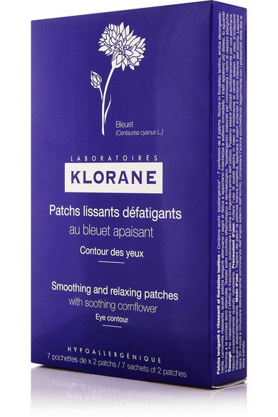 Klorane - Soothing And Relaxing Eye Patches X 7 - Colorless