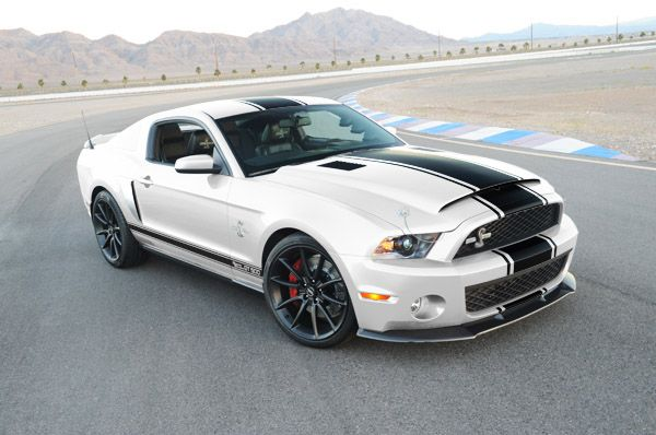 2012 Mustang Shelby GT500 Super Snake