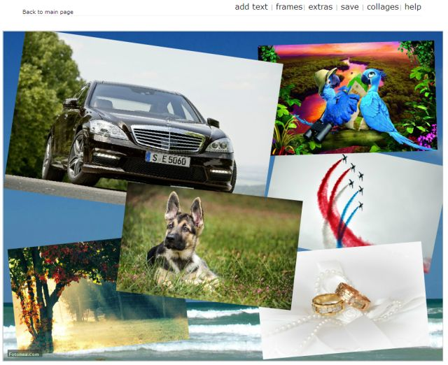 Create a Custom Collage With These Free Photo Collage Makers: Fotonea.com