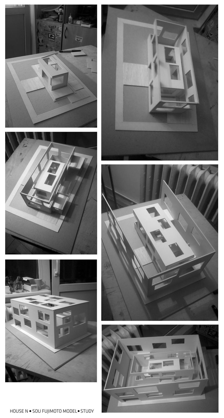 N House Sou Fujimoto Architects study for school