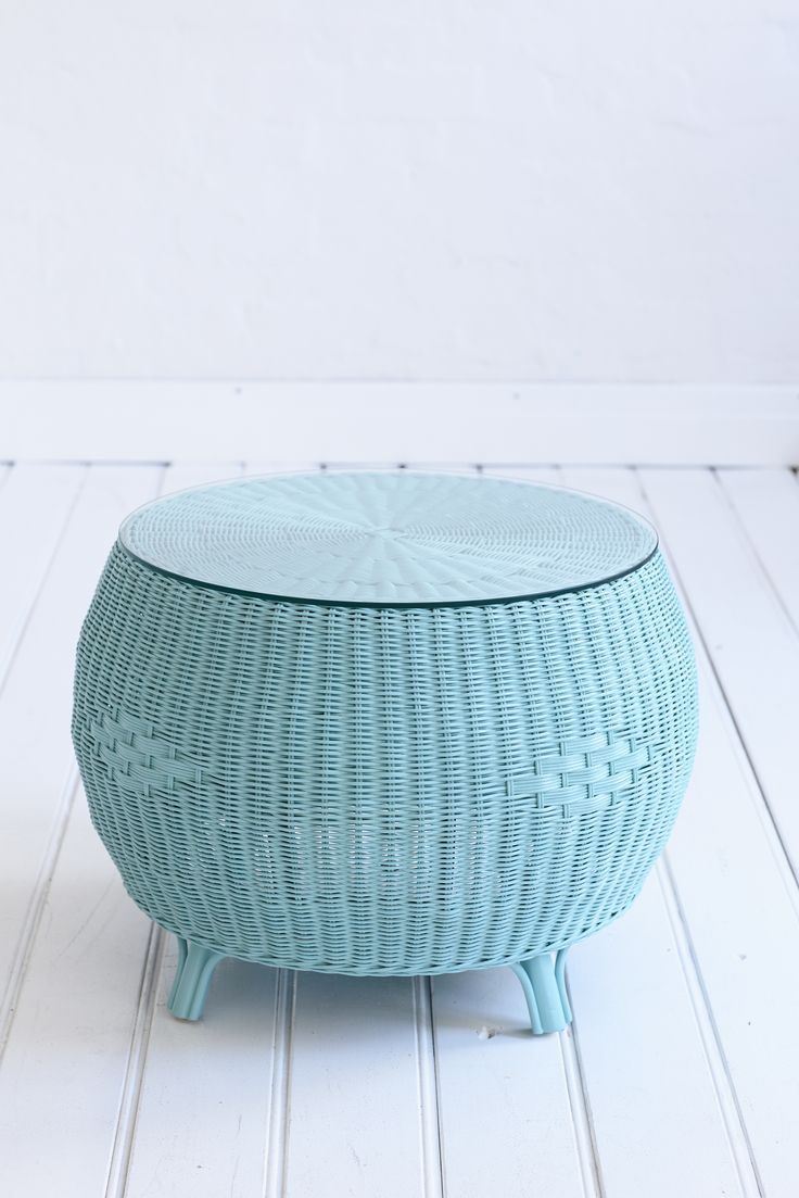 Our Rattan Glass Top Coffee Table Has Arrived Intracately