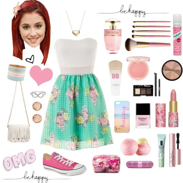 Very girly and cute - Cat Valentine/Ariana Grande! - Polyvore