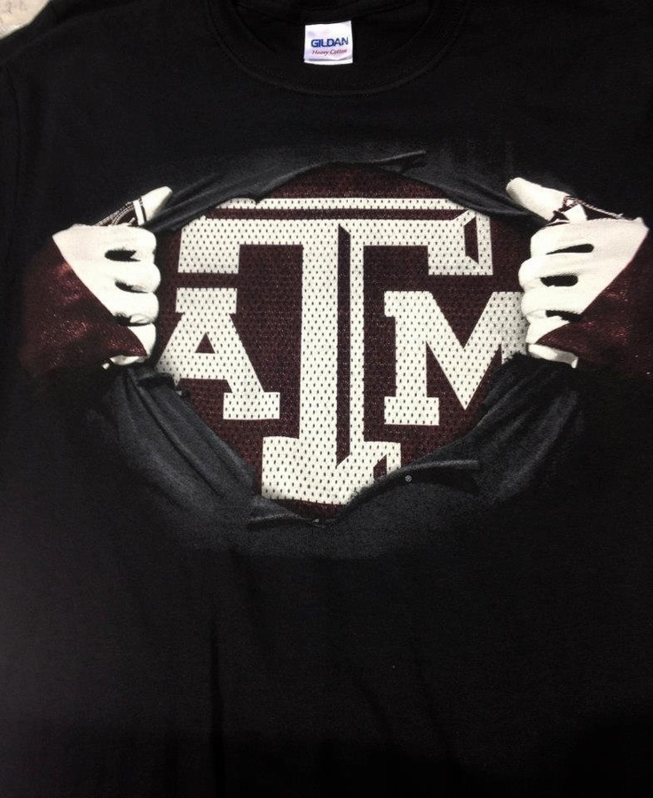 New superman atm t shirt my texas a m aggies pinterest for Atm t shirt sale