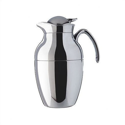 Alfi Novo 1.3-Liter Chrome Plated Metal Carafe with Plastic Trim