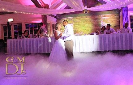 Intercontinental Sanctuary Cove || Cass & Dan's Bridal Waltz Dancing on a Cloud. #PurpleUplighting #weddingdjgoldcoast #weddinglighting #gmdjs #magnifiqueweddings @InterConSanc