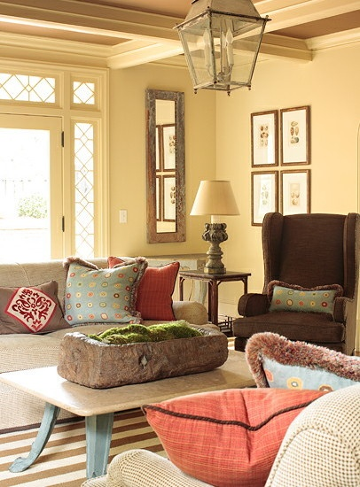 Best 25 chocolate brown couch ideas on pinterest brown couch pillows living room decor dark - Marvelous furniture for living room decoration with various round brown cream leather ottoman ...