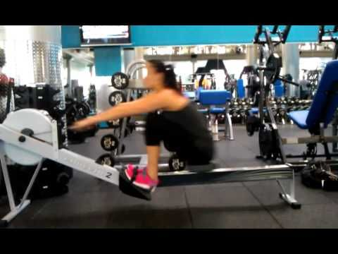 how to use a rowing machine correctly