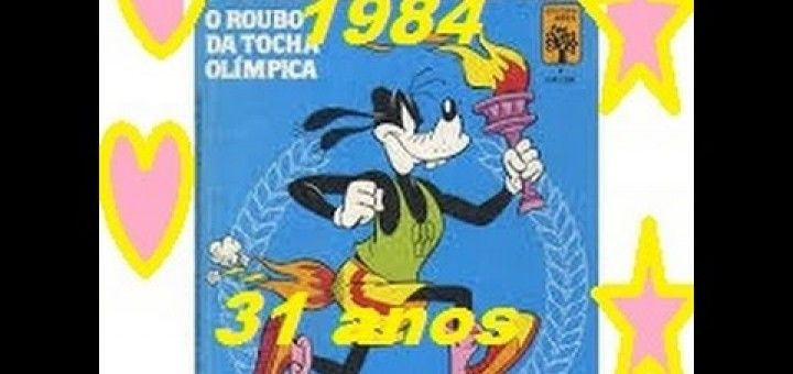 jogos Disney/figurinhas das olimpiadas 1984