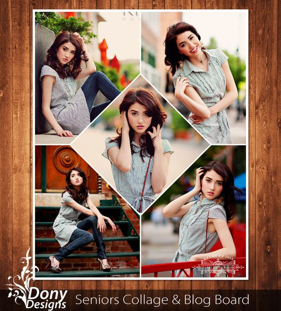 55 best blog board collage template images on pinterest for Senior photo collage templates