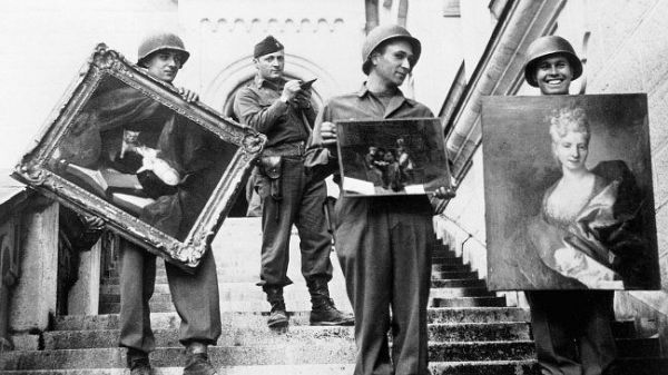 Paintings looted by the Nazis