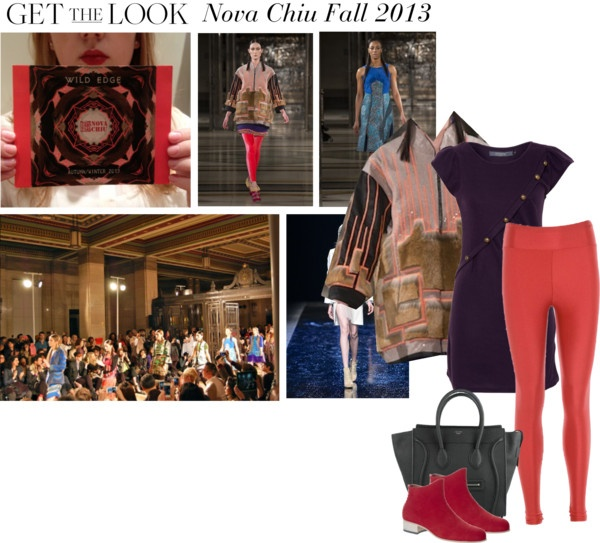 """Get the Look - Nova Chiu Fall 2013"" by wantering ❤ liked on Polyvore"