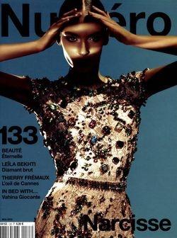 Model:  Zuzanna Bijoch  Magazine: Numero May 2012  Shoot: Sebastian Kim