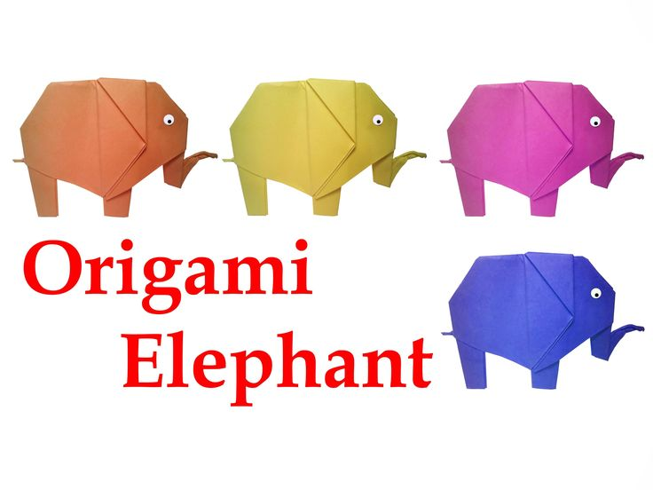 How To Make Origami Elephant Very Easy DIY Crafts