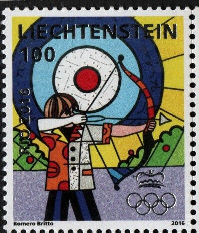 Liechtenstein - 2016 Rio Olympic Games, Set of 2 (MNH)