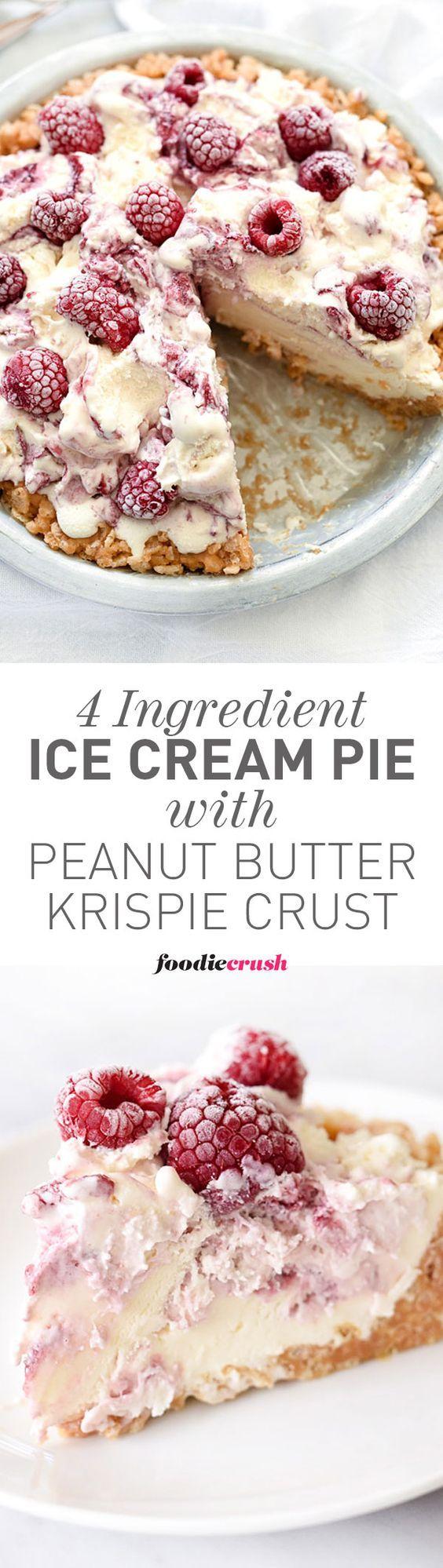 4-ingredient-ice-cream-pie-with-peanut-butter-krispie-crust