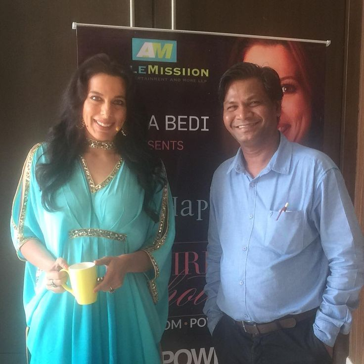 Networking with Pooja Bedi at @novotel_mumbai