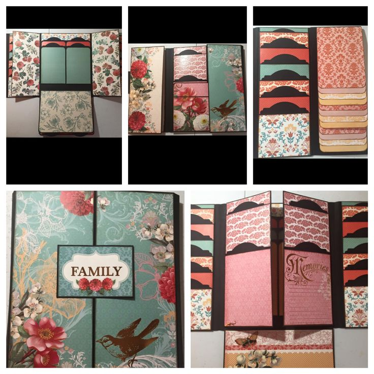 Foto Folios Style 4 created by crafter Barbara West.    Click on the link below to purchase the tutorial.   http://shop.paperphenomenon.com/Foto-Folios-w-Storage-Box-Tutorial-TUT076.htm