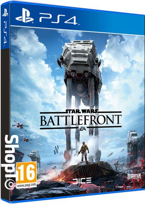 Star Wars Battlefront, PS4, EA