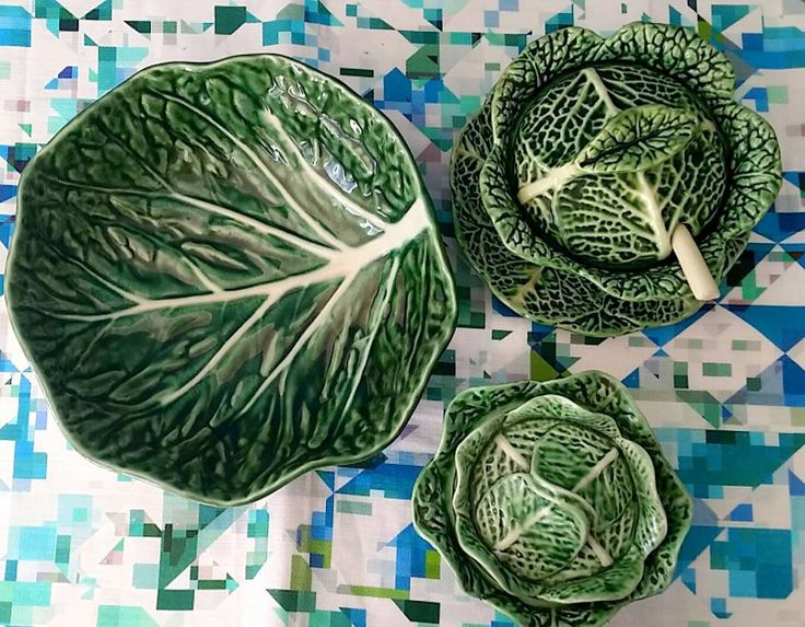 I'm so in love with lettuce ware  Apparently also a suprise hit @libertylondon…