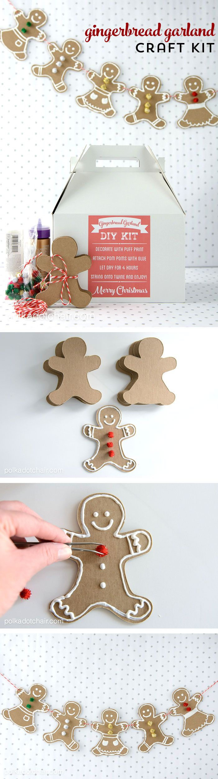 man craft ideas diy gingerbread craft kit for crafts 2373