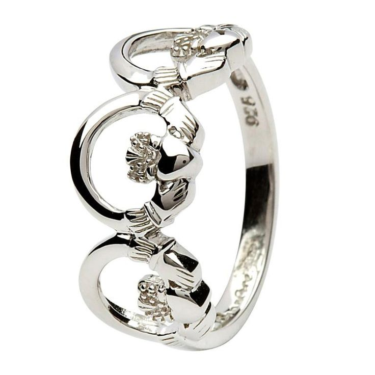 43 best images about claddagh rings on