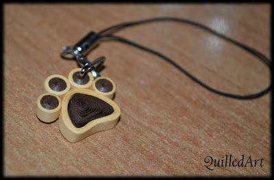 quilling pendant
