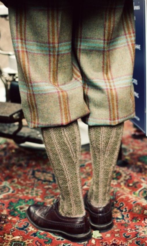 Great Tweed Plus Fours and Socks