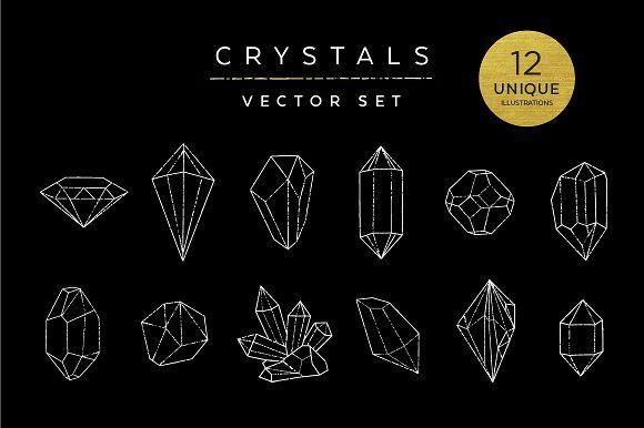 Best 25 Crystal Illustration Ideas On Pinterest Crystal