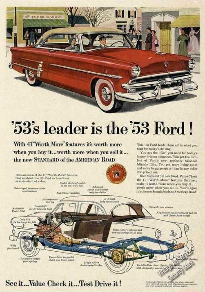 Ford Color Car 1953