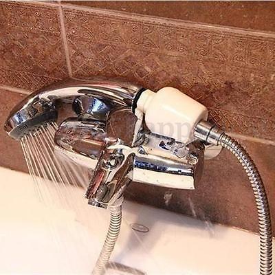 bathroom bath shower head inline filter faucet water softener remove chlorine 3