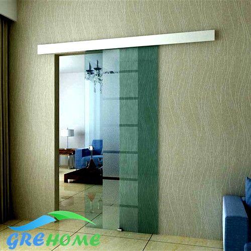Aluminium alloy frameless barn sliding glass door system - ICON2 Luxury Designer Fixures  Aluminium #alloy #frameless #barn #sliding #glass #door #system