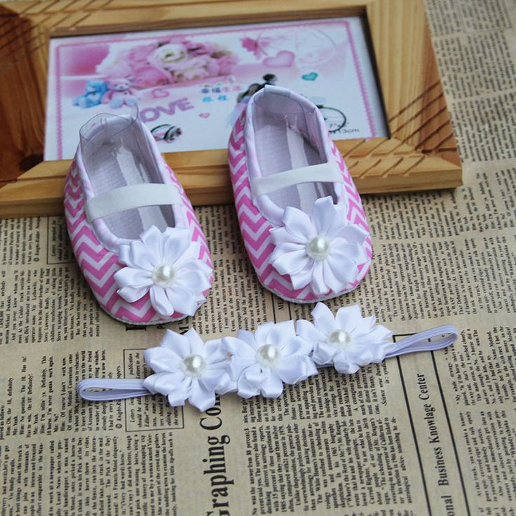 >> Click to Buy << Flower Girl Shoe Toddler Headband,baby girl boots brand,soft sole baby shoes pattern,baptism newborn baby girl shoes #Affiliate