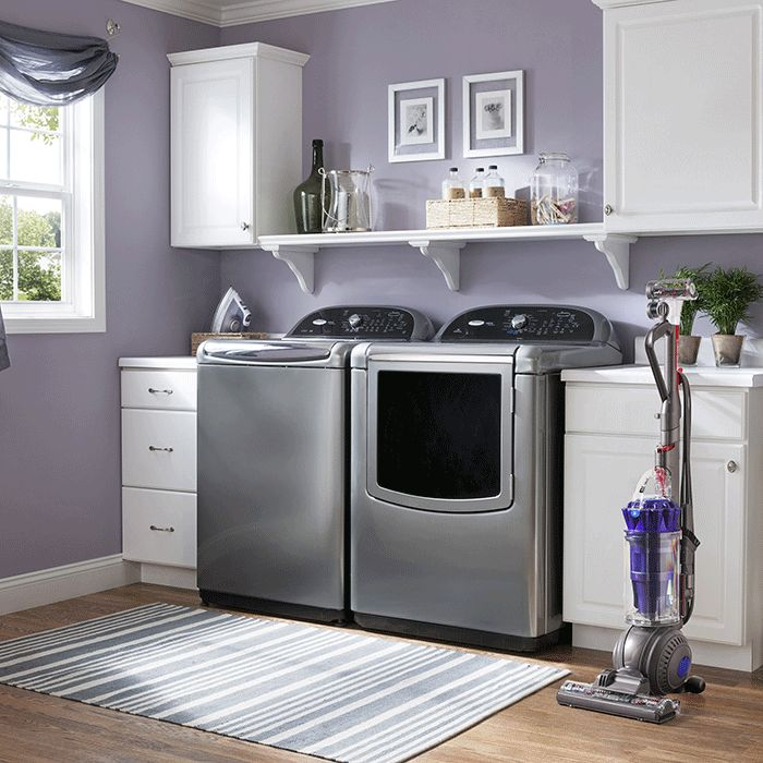 Best 25 purple laundry rooms ideas on pinterest purple laundry room furniture purple - Best washer and dryer for small spaces property ...