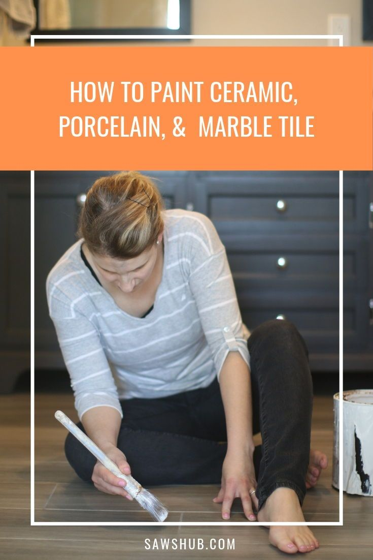 How to Paint Tile | DIY Home Painting Tips | Pinterest ...