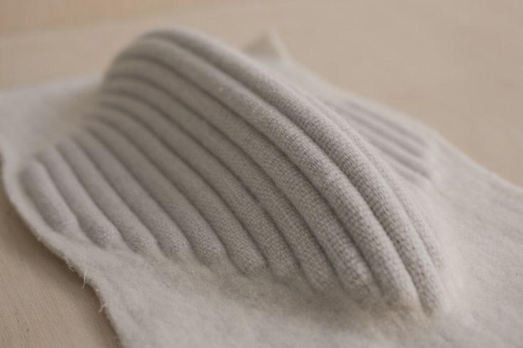 Woven Textiles Design with 3D structure; innovative weaving; experimental textiles // Esther Van Schuylenbergh