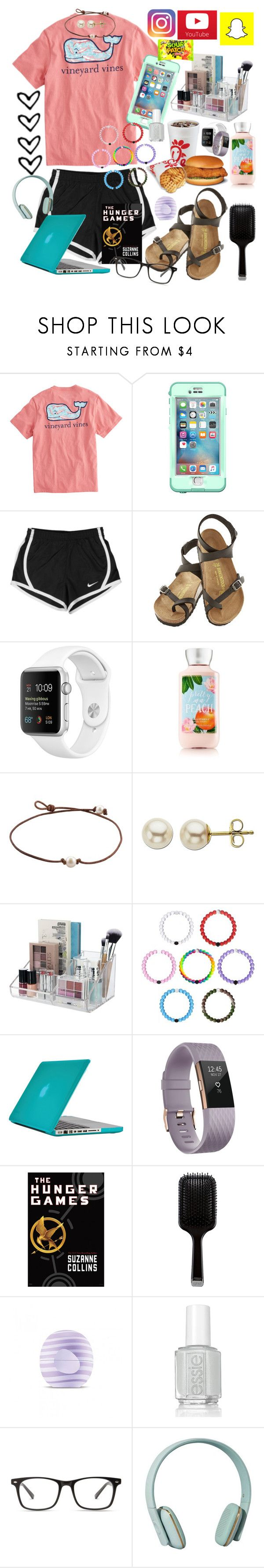 """""""LIFE✌🏼❤️✌🏼"""" by maris3456 ❤ liked on Polyvore featuring Vineyard Vines, LifeProof, NIKE, Birkenstock, Lord & Taylor, Speck, Fitbit, GHD, Eos and Essie"""
