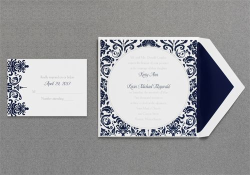 Wedding Invitations by www.invitationdiscounters.com