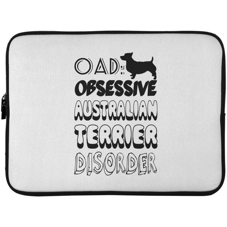 OAD Obsessive Australian Terrier Disorder Laptop Cases