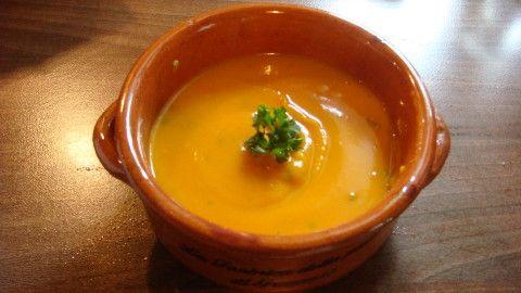 Krémová polévka z dýně Hokaido - Powered by @ultimaterecipe